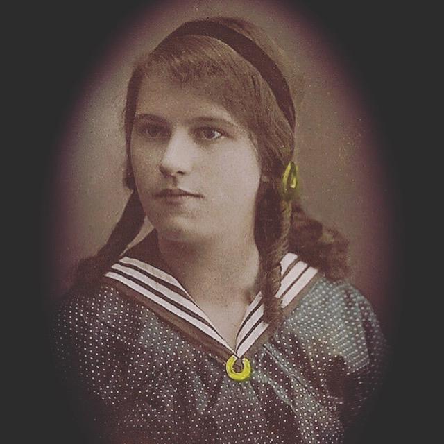 Mary Elizabeth Addis circa 1918