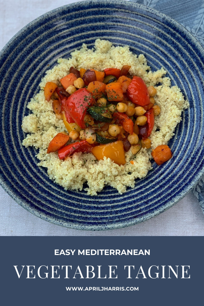 My flavourful, warmly spiced Mediterranean Vegetable Tagine is a versatile and easy to make main course that is both vegan and gluten free.