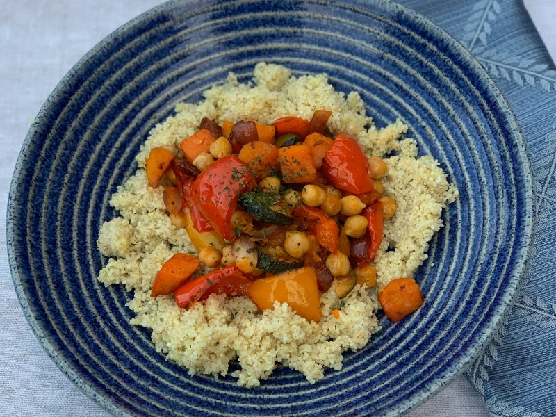Easy Mediterranean Vegetable Tagine