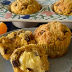 Oat Bran Muffins with Carrot and Orange