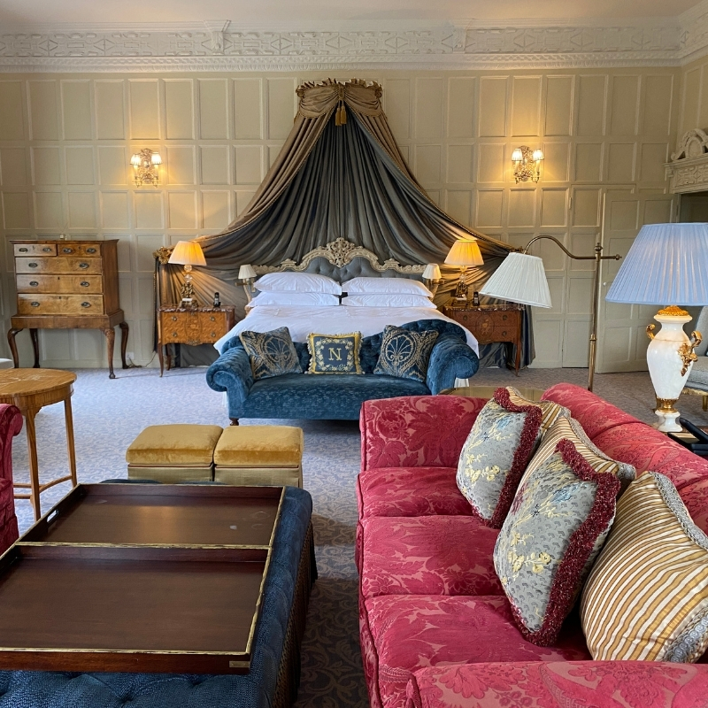 The Lady Astor Suite at Cliveden House Hotel