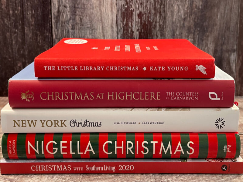 5 of My Favourite Christmas Cookbooks