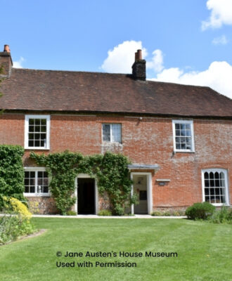 Regency Novelist Visiting Jane Austen's House Museum