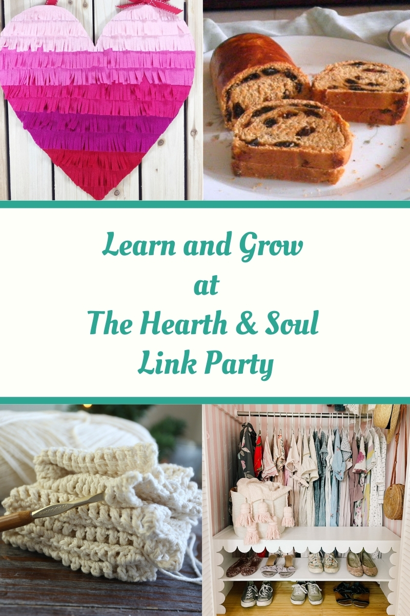 Learn and Grow at the Hearth and Soul Link Party - featured posts