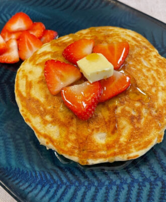 A quick, easy, versatile family recipe for light, fluffy flavoured pancakes. There's almost no limit to the flavours you can enjoy.