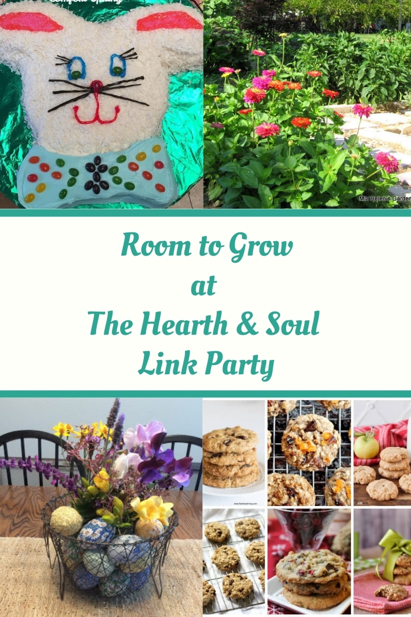 Room to Grow Featured Posts at the Hearth and Soul Link Party where we celebrate everything that feeds the soul