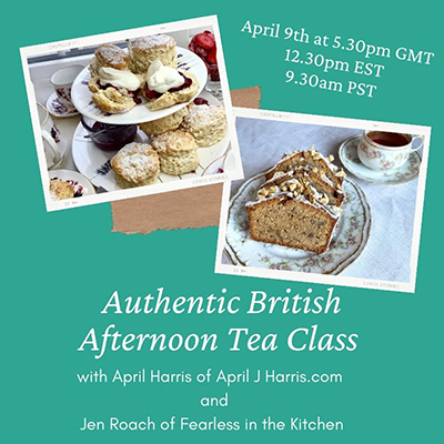 Authentic Britishh Afternoon Tea Class