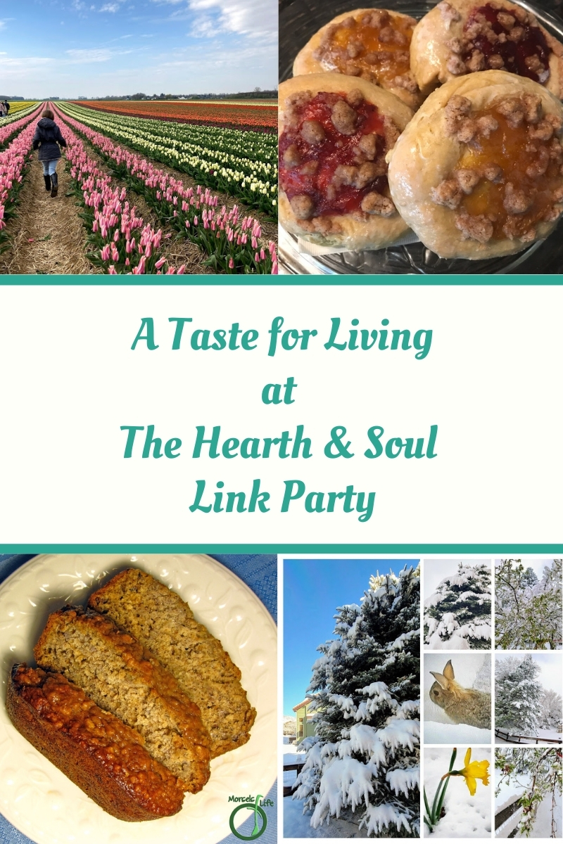 A Taste for Living at the Hearth and Soul Link Party featured posts