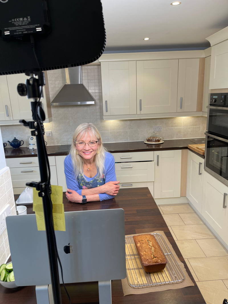 Home as a Haven - April J Harris in her kitchen