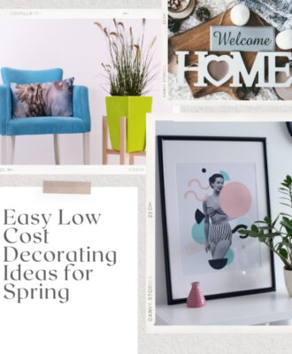 Easy Low Cost Decorating Ideas for Spring