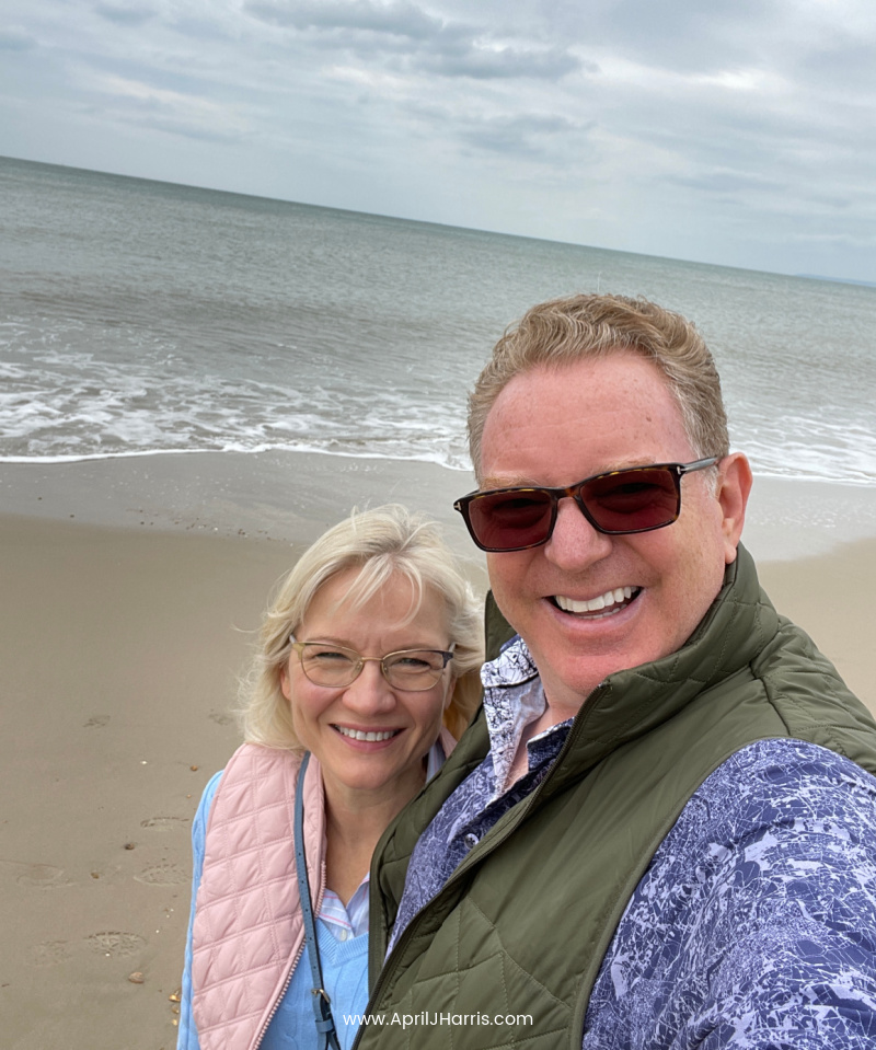 Celebrating our heritage - a couple at the seaside