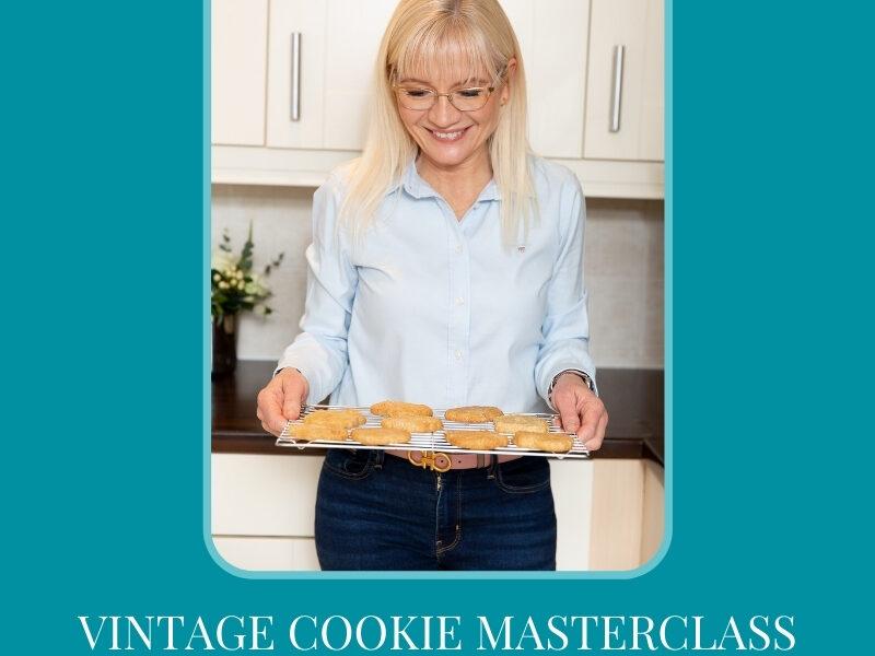 Vintage Cookie Masterclass Announcement