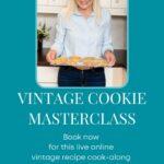 Vintage Cookie Masterclass Advertisement