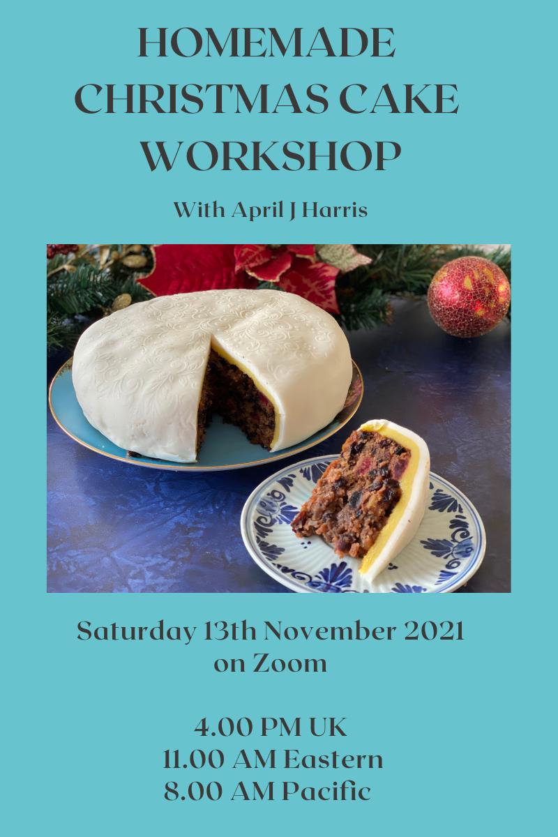 Homemade Christmas Cake Workshop