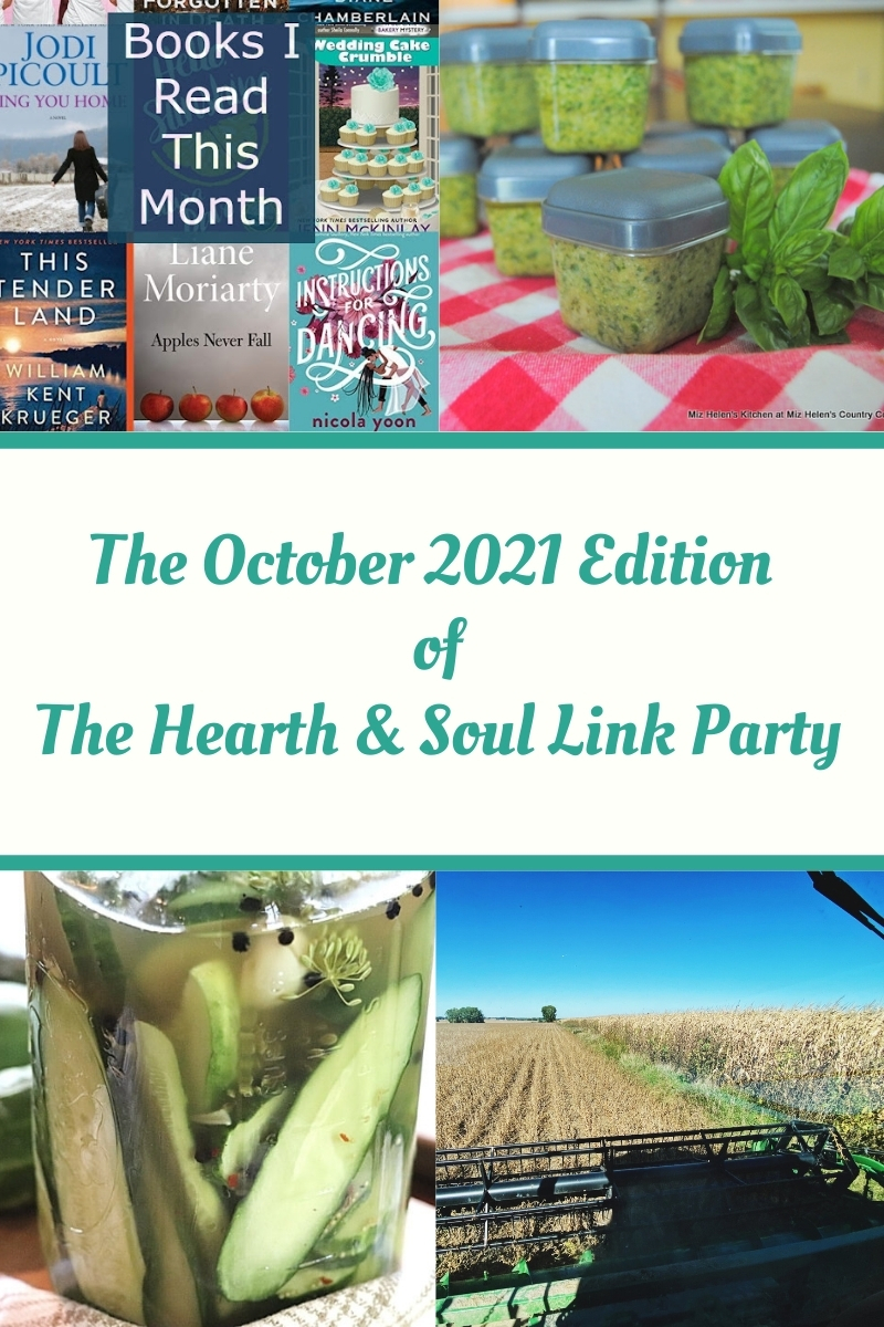 October Edition Hearth and Soul